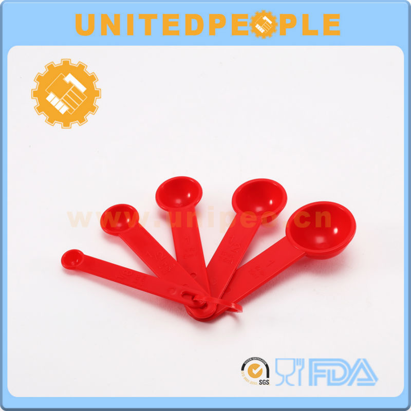 Plastic Gram Measuring Scoop Colorful Plastic Spoon