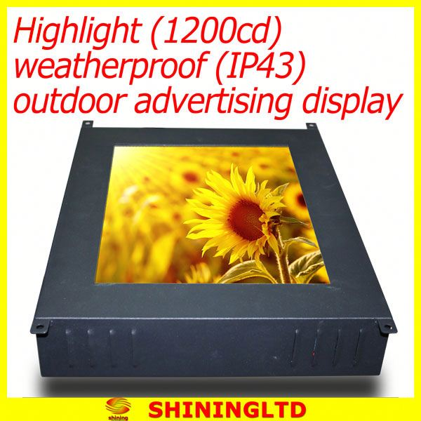 Hot offer lcd ad media screen with shoes polisher