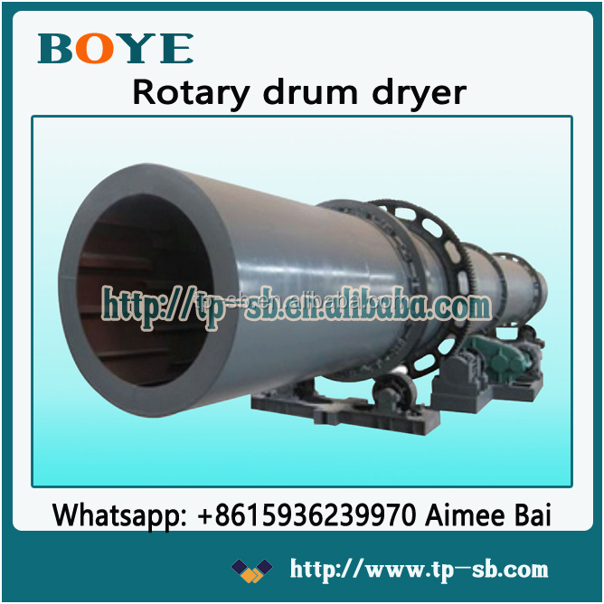 Drum rotary wood powder dryer roller rotary wood powder dryer tumble rotary wood powder dryer