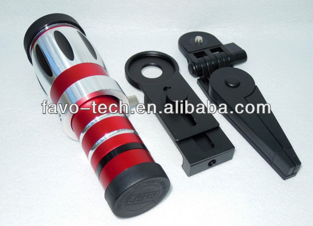 High quality aluminum telescope camera lens mobile phone lens zoom 20X