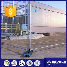 6ft Movable Galvanized Fence Temporary Fencing Panel