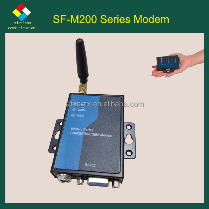 SF-M200 Series industrial RTU TCP/IP STK sms mms data transfer GPS external multi sim 3g usb modem with AT command for ATM,POS