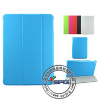 2013 New arrival Cross pattern leather cover for ipad air