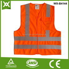 China wholesale horse riding reflective safety vest with pockets