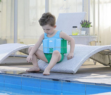 L1125A Wholesale Boys Swim Training Floatsuit Swimming Aid Float Suit one piece swimsuits