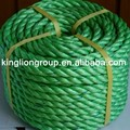 China supplier polypropylene PP tiger twisted agriculure farming ropes