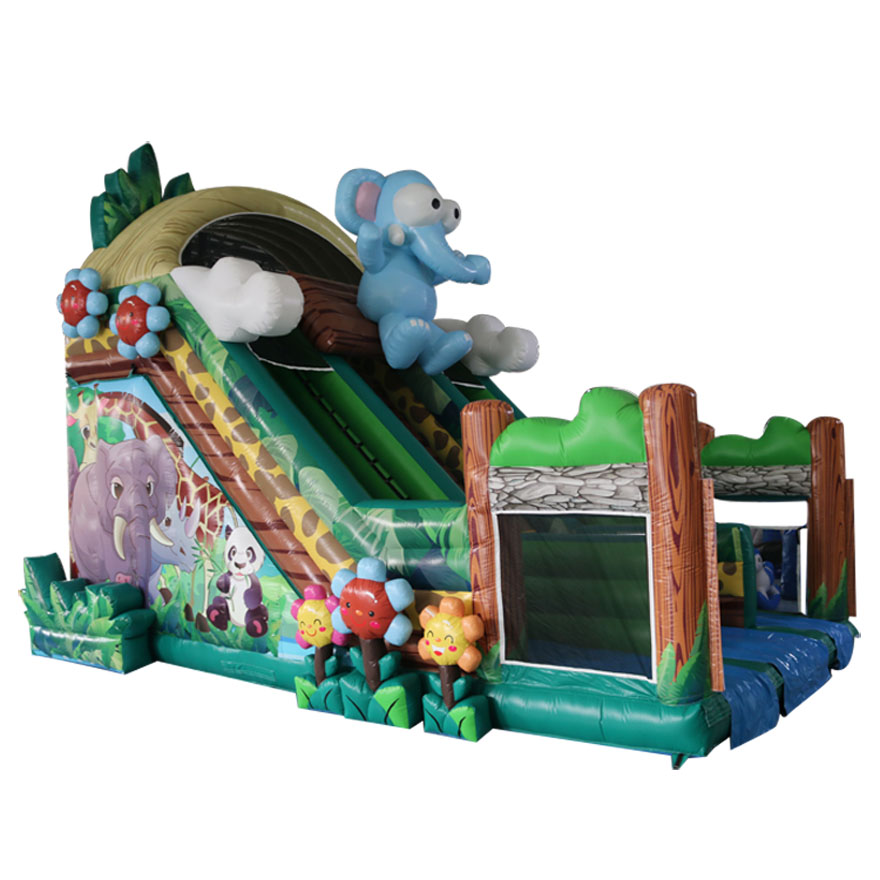 170028 Inflatable cartoon design slide factory directly for sales