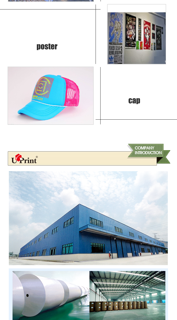 T-shirt transfer inkjet photo paper for white color textile heat transfer printing paper