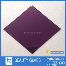 6mm decorative one-way mirror architectural glass price