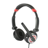 noise cancelling telephone headset call center headset