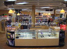 customized kiosk design for grocery store furniture