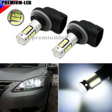 High Power Xenon White 30-SMD 4014 881 889 H27 LED Replacement Bulbs For Car Fog Lights, Daytime Running Lights, DRL Lamps