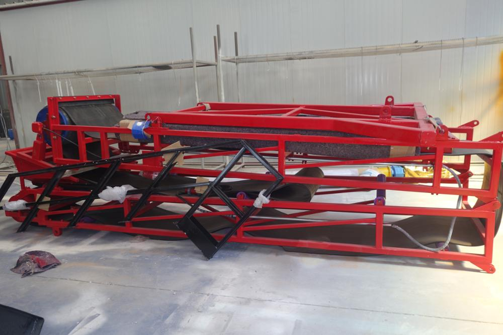 SDDOM soil reversible belt conveyor
