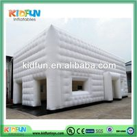 Big inflatable cube tent for wedding