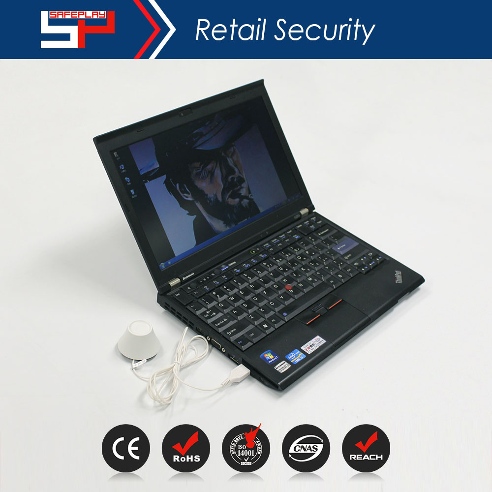 ONTIME SP2403 Factory Price Retail Shop Anti-theft Laptop Cable Security Display