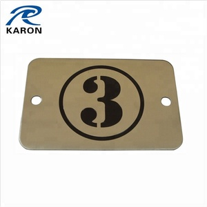 bulk cheap custom metal door signs in steel