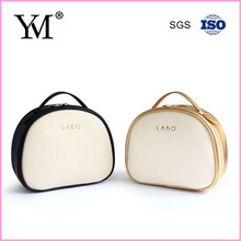 Fashion ladies customized PU leather makeup vanity case