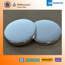 Hot Sale Super Strong Magnets Disc 15 x 4 mm with ISO/TS 16949