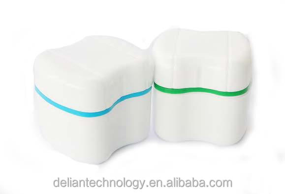 Delian Denture Box for Teeth Storage Dental Plastic