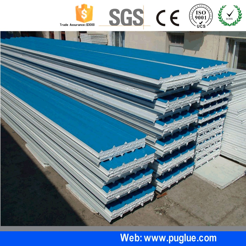 Top two part high temperature adhesive waterproof wood glue for EPS sandwich panel