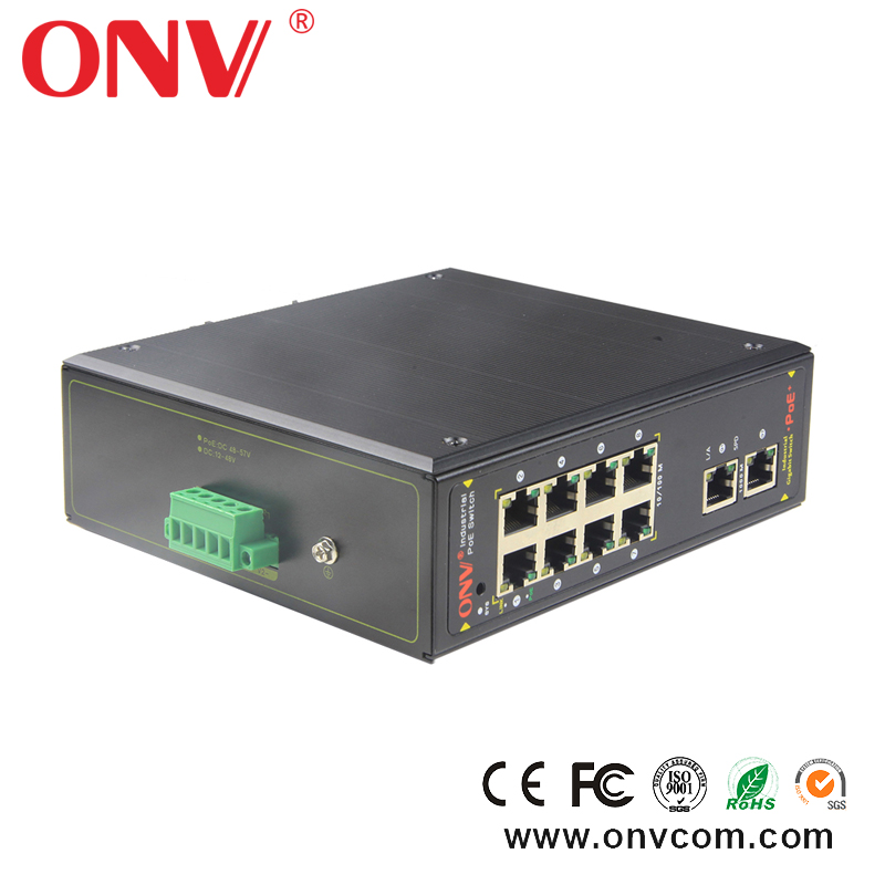 <strong>1</strong>+4 Ports 10/100/1000Mbps Mini PoE Switch Power over Ethernet Gigabit Switch 120W 48-57V For IP Cameras AP IEEE802.3at POE shopp