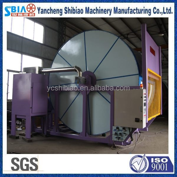 Stainless steel milling drum for tannery