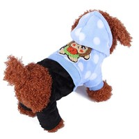Pet Dog Clothes Factory Coats Jackets Pet Product Monkey Plush Clothing Knitting Pattern For Dog Clothes For Dog Hoodie Clothing