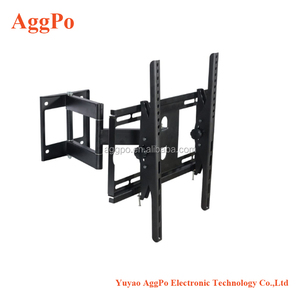 TV Wall Mount Bracket for most of 26-55 Inch LED, LCD, OLED Flat Screen TV with Full Motion Swivel Articulating Arm with Tilting
