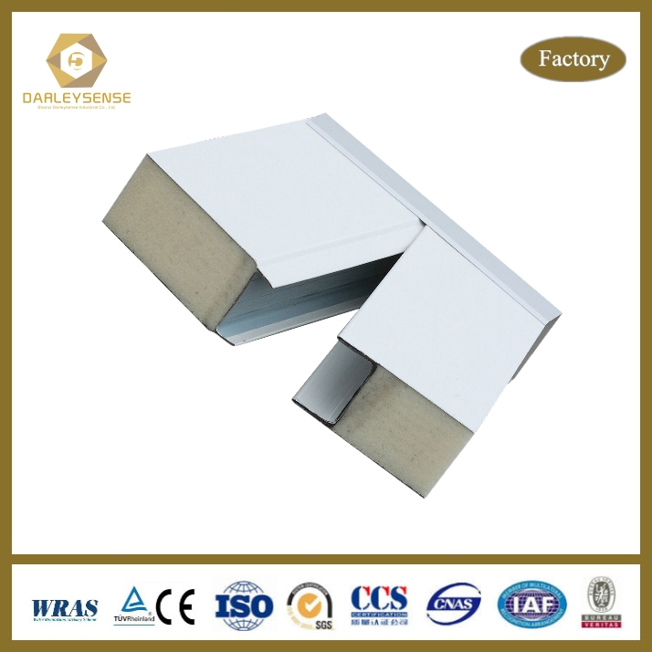 High Heat Insulation polyurethane wall & roof sandwich panel with Best Price Quality