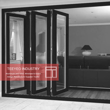 Teeyeo talented latest design aluminuim insulated air tight folding doors and windows hinges