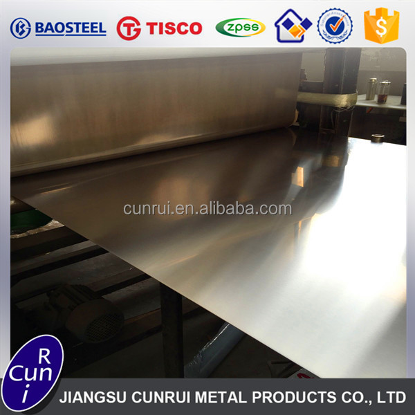 China Supplier 304/304L hairline finish stainless steel sheet