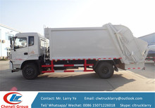 12m3 garbage truck dimensions