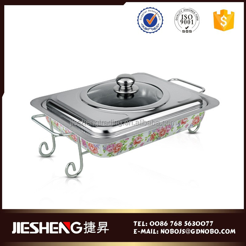 Western country restaurant equipment kingo chafing dish