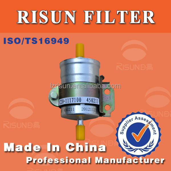 Europe III motor Auto fuel filter OEM factory C20-1117100 Gasoline filter oil filtros