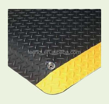 ESD anti-fatigue Floor Mat - Black and Yellow work mat
