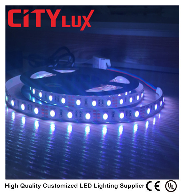 2017 HOT Wholesale IP 20 Non-waterproof LED 5050 RGB 60 84 LEDS 12V 24V Wearable LED Strips Lighting