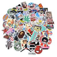 Best sales Laptop Stickers Car Motorcycle Bicycle Luggage Decal Graffiti Patches Skateboard Stickers for Laptop