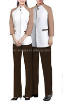 simple and decent hotel uniform for housekeeping,hotel uniform
