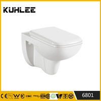 KL- 6801 Ceramic human toilet without cistern sanitary ware toilet