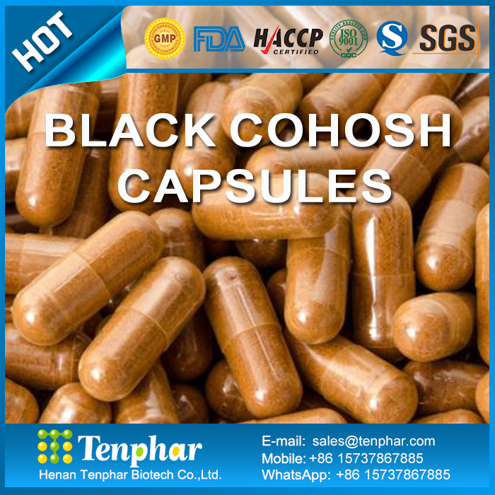 1000mg Menstrual Regulation Black Cohosh Essence Extract Capsules