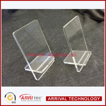Ultra transparent acrylic portable phone display,phone stand for retail shop