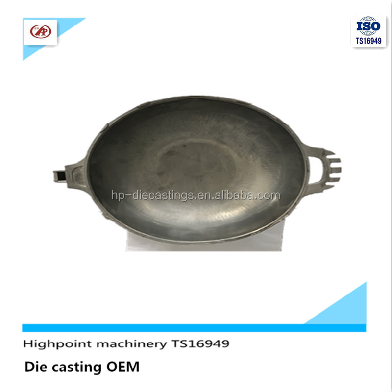 OEM cooking pot Frying pan with die mould aluminum