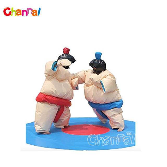 High Quality Fat PVC Inflatable Muscle Suit With Different Size