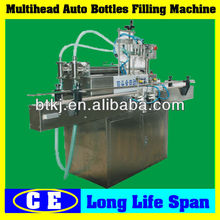 Four or Six Nozzle Strong Corrosive Liquid Filler Machine for Sale,Automatic Stainless Strong Corrosive Liquid Filling Machine