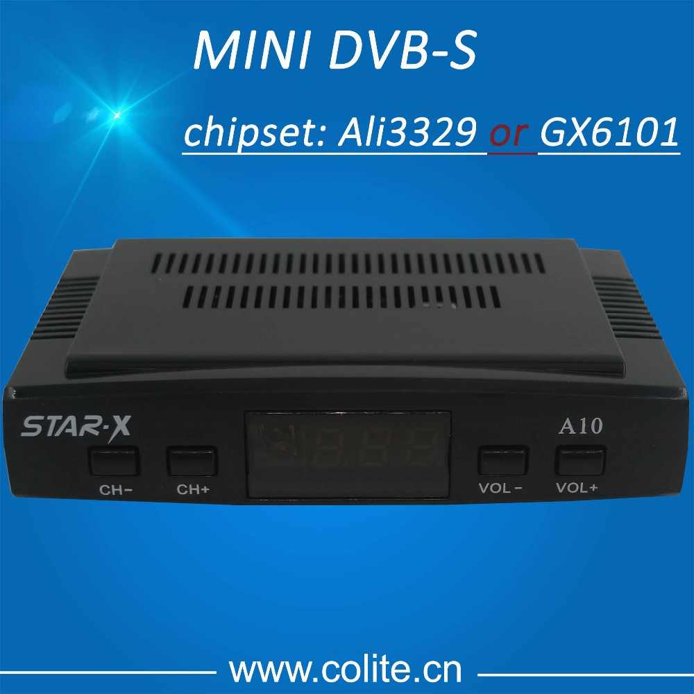 Satellite Receiver Star X Mini DVB-S with Led Ir