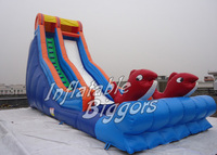 Animal Inflatable Water Slides With Swimming Pool