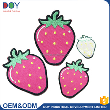 China custom Latest computer embroidery designs clothing patch self-adhesive embroidery