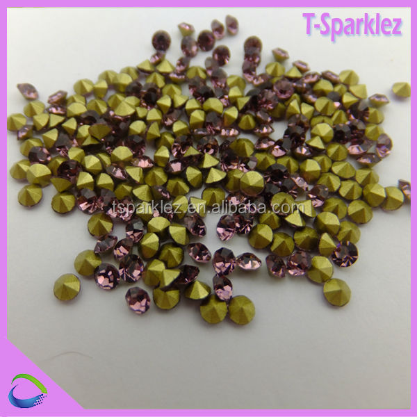 Shinning strass stone pink chatons 888 for accessories