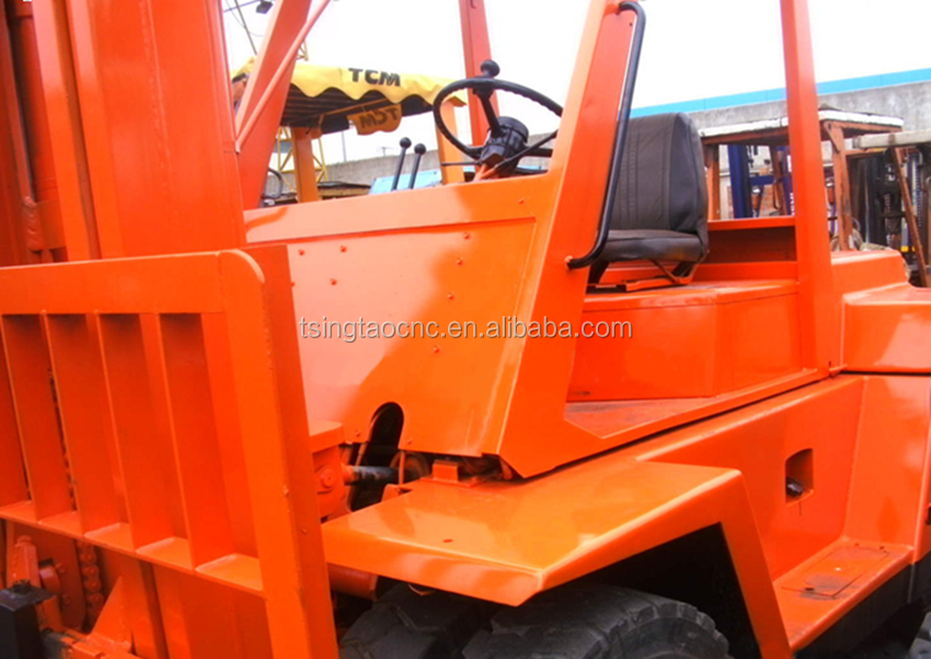 Used toyota diesel forklift 8ton price, cheap 8ton forklift for sale, HOT!