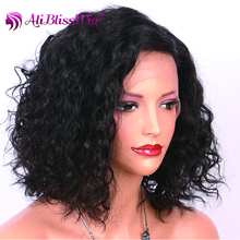 10 inch deep parting bleached knots natural color body wave brazilian hair new style crochet braids with human hair wigs